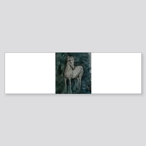 Horse, animal, art, Sticker (Bumper)