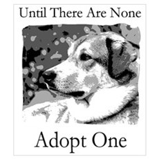 Until There Are None...Adopt Canvas Art
