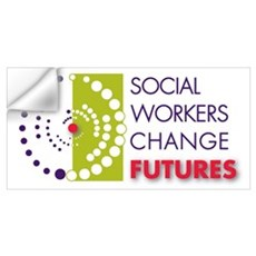Social Workers Change Futures Wall Decal