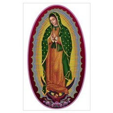 7 Lady of Guadalupe Poster