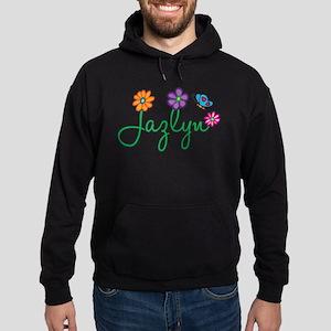 Jazlyn Flowers Hoodie (dark)