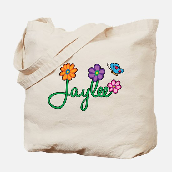Jaylee Flowers Tote Bag
