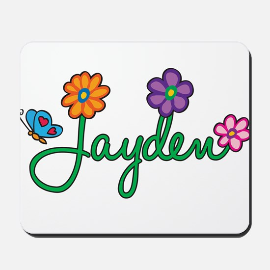 Jayden Flowers Mousepad