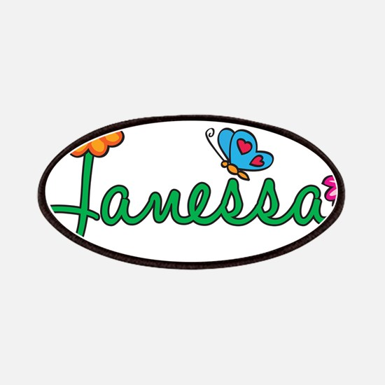 Janessa Flowers Patches