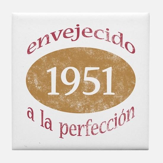 Envejecido A La Perfección (1951) Tile Coaster