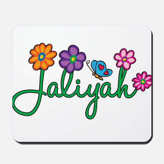 Jaliyah Flowers Mousepad