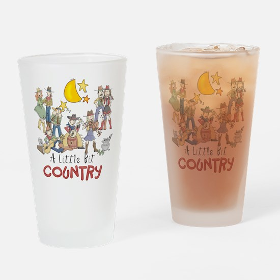 Little Bit Country Drinking Glass