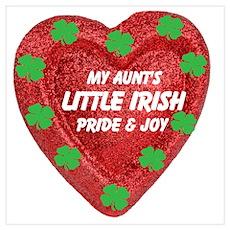 Little Irish Pride & Joy/Aunt Poster