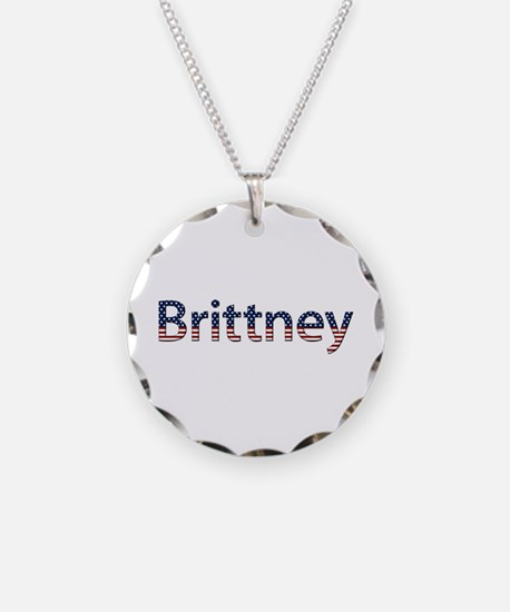 Brittney Stars and Stripes Necklace
