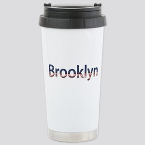 Brooklyn Stars and Stripes Stainless Steel Travel
