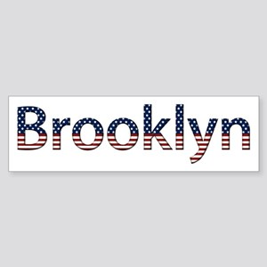 Brooklyn Stars and Stripes Bumper Sticker