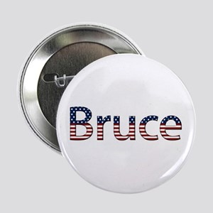 Bruce Stars and Stripes Button