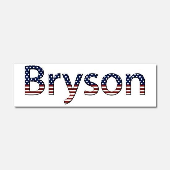 Bryson Stars and Stripes 10x3 Car Magnet