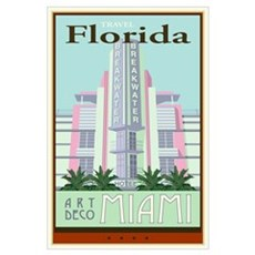 Travel Florida Framed Print