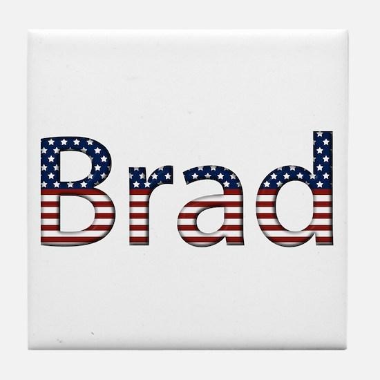 Brad Stars and Stripes Tile Coaster