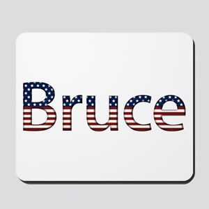 Bruce Stars and Stripes Mousepad