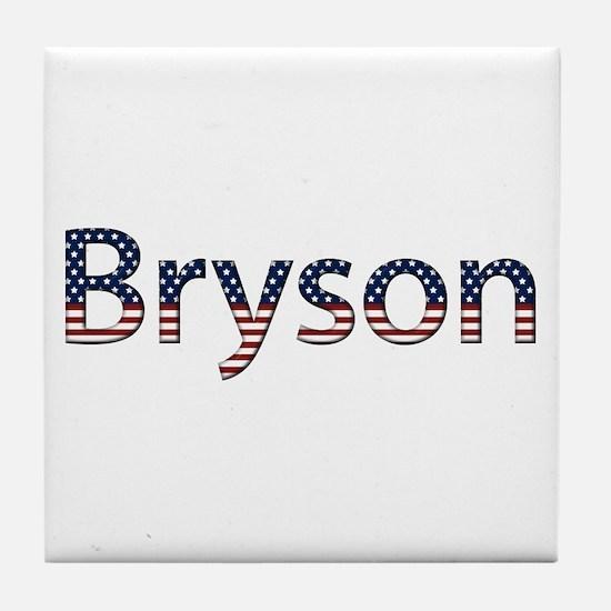 Bryson Stars and Stripes Tile Coaster