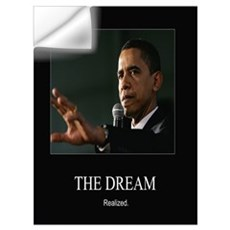Obama -Dream Realized Wall Decal
