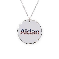 Aidan Stars and Stripes Necklace