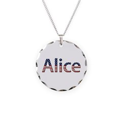 Alice Stars and Stripes Necklace