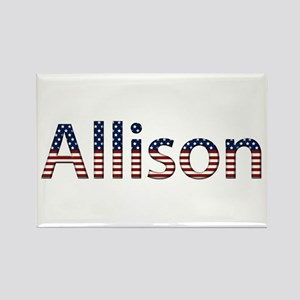 Allison Stars and Stripes Rectangle Magnet