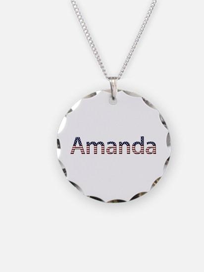 Amanda Stars and Stripes Necklace
