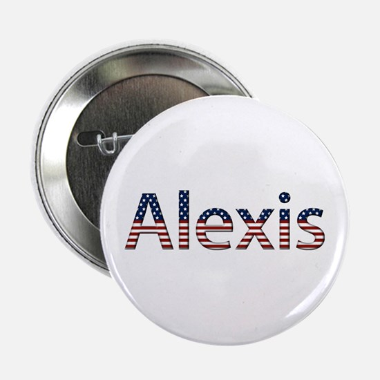 Alexis Stars and Stripes Button