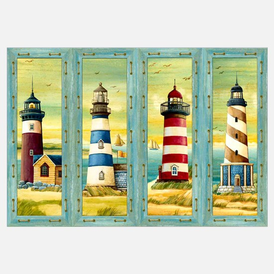 Unique Lighthouses Wall Art