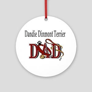 Dandie Dinmont Terrier Ornament (Round)