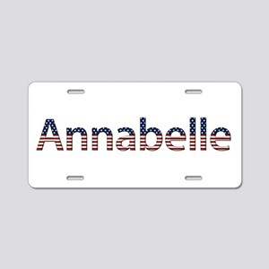 Annabelle Stars and Stripes Aluminum License Plate