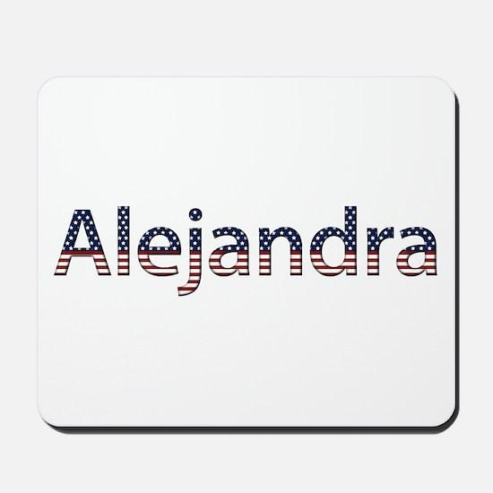 Alejandra Stars and Stripes Mousepad
