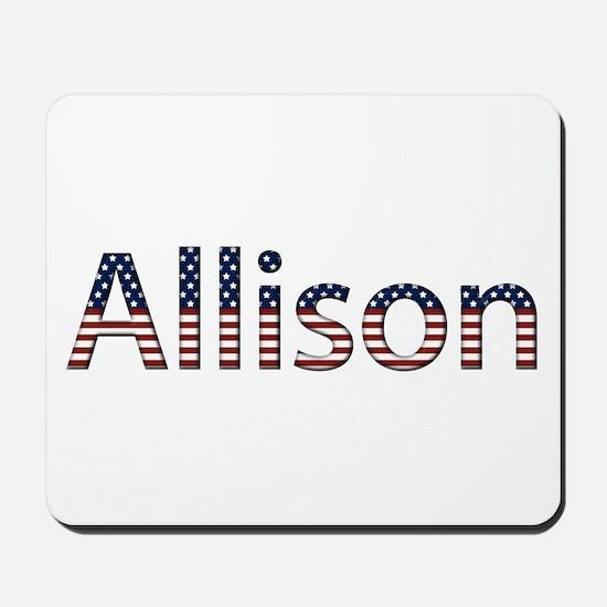 Allison Stars and Stripes Mousepad