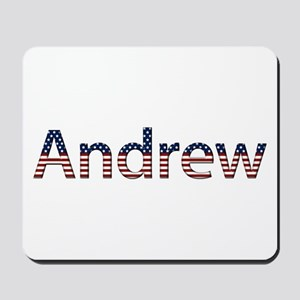 Andrew Stars and Stripes Mousepad