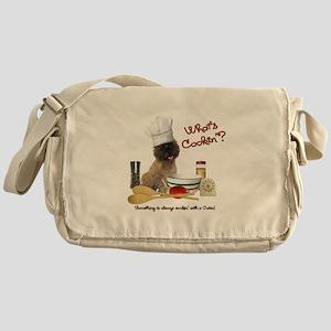 Cairn Terrier Cooking Messenger Bag