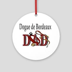 Dogue de Bordeaux Ornament (Round)