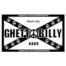 Ghettobilly Band Poster