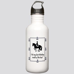 Dressage Box Thinking Stainless Water Bottle 1.0L