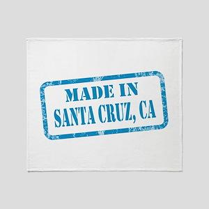 MADE IN SANTA CRUZ, CA Throw Blanket