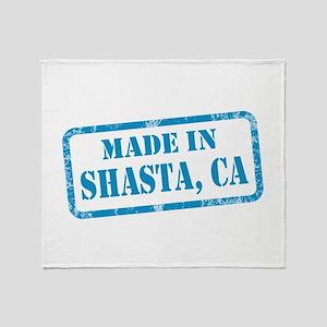 MADE IN SHASTA, CA Throw Blanket