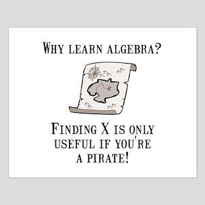 Algebra Pirate Small Poster