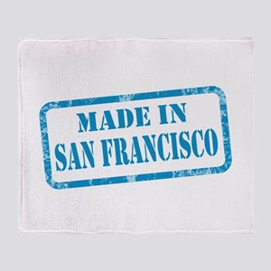 MADE IN SAN FRANCISCO, CA Throw Blanket