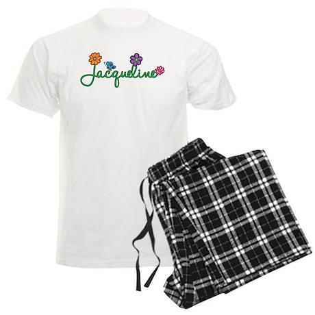 Jacqueline Flowers Men's Light Pajamas