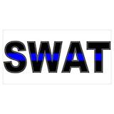 Swat blue line Posters