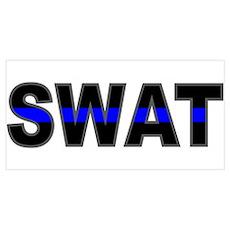 Blue Line SWAT Poster