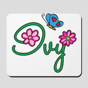 Ivy Flowers Mousepad