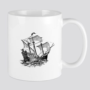 Galleon Ship Mug