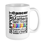 Support All Cancers Large Mug