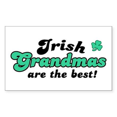 Irish Grandmas Rectangle Sticker