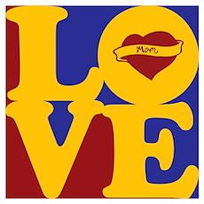 Tattoos Love Poster
