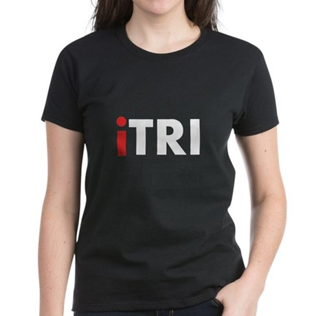 iTRI Triathlon Women's Dark T-Shirt
